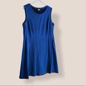 Merona black blue sleeveless dress size XL